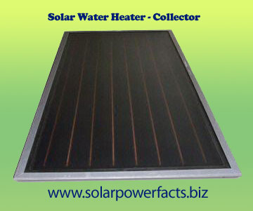 Solar Water Heater - Collector